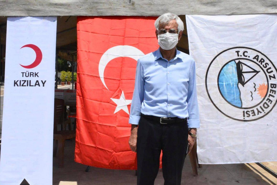 Arsuz'da Kan ve Kök Hücre Bağışı Kampanyası