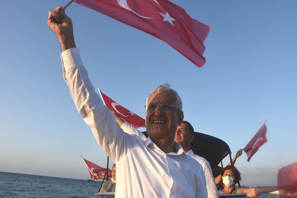 """ARSUZ'DA """"2. ZAFER BAYRAMI TEKNE KORTEJİ"""""""